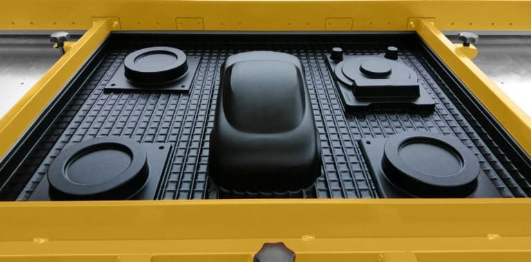 Schwarze Karosserie Form
