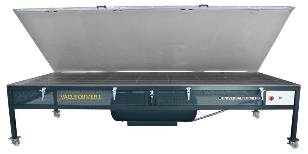 Vacuformer_L_Universaformers, Abdeckung geöffnet