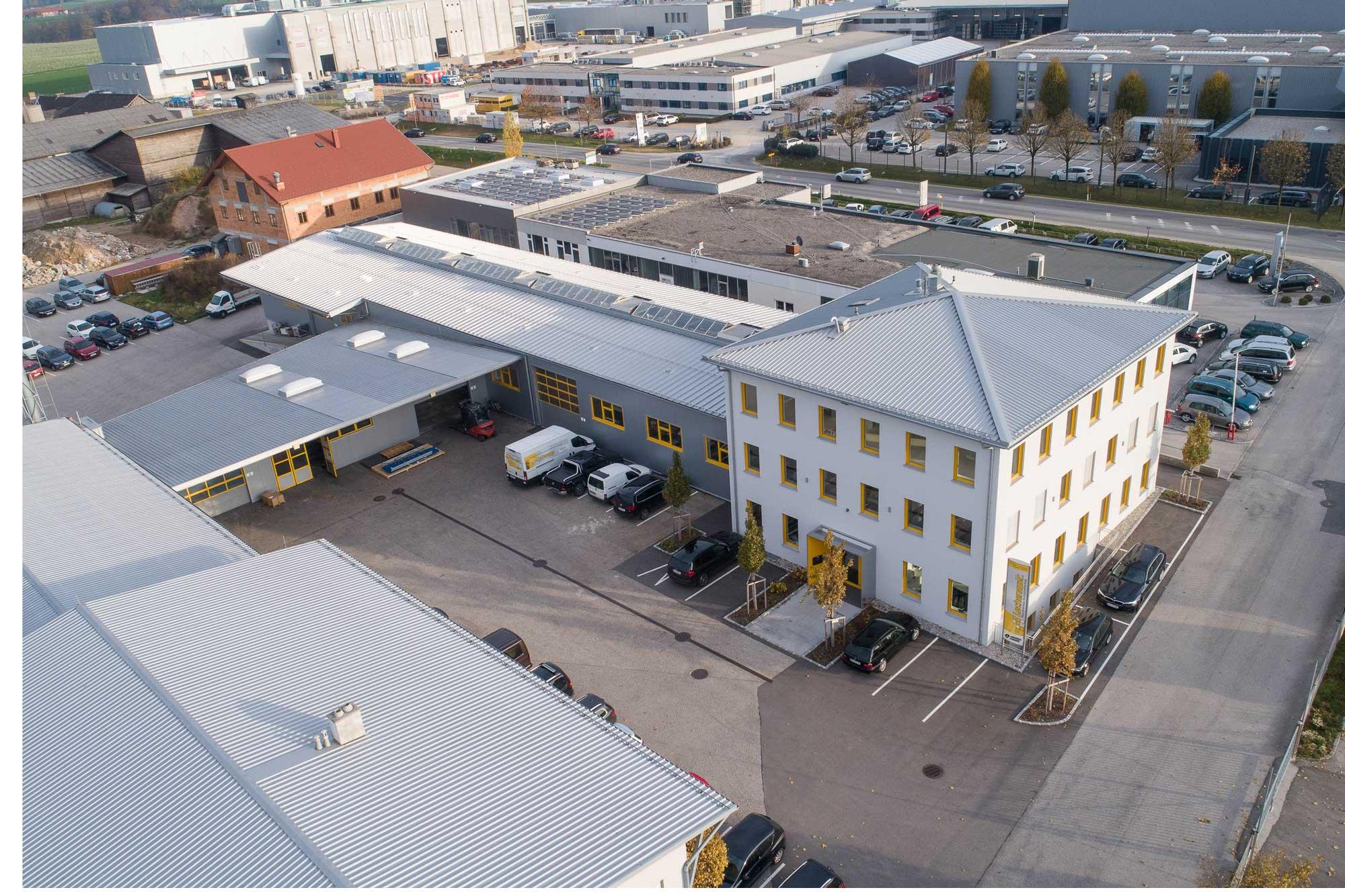Universal Formers Firmengebäude