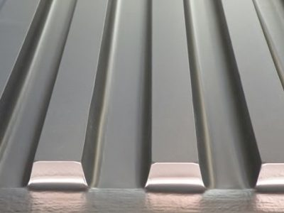 Muster Universalformers, Folie laminiert silbergrau